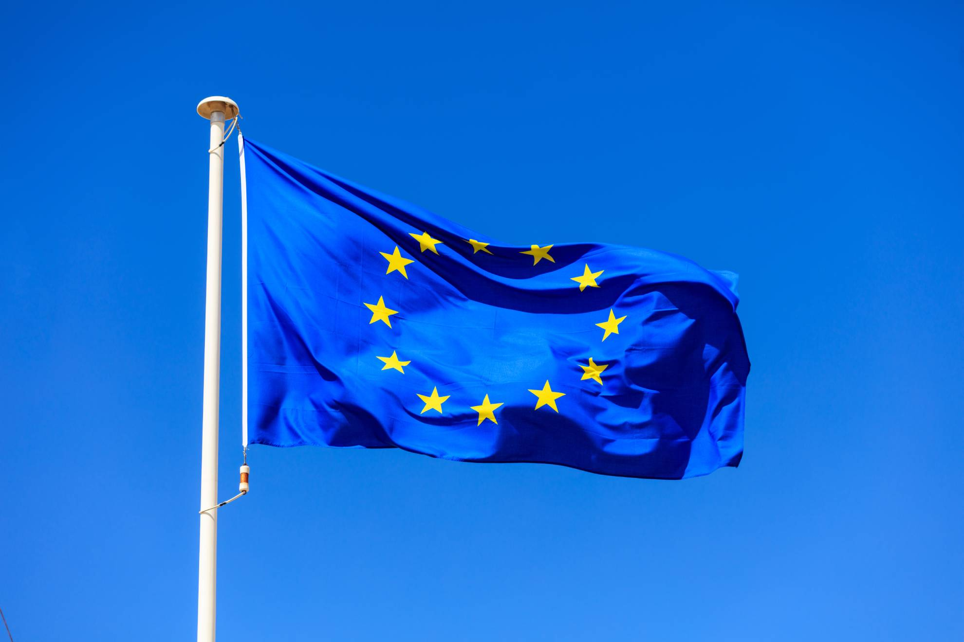eu-flag-european-union-flag-on-a-pole-waving-on-bl-P5QSR3A (1)