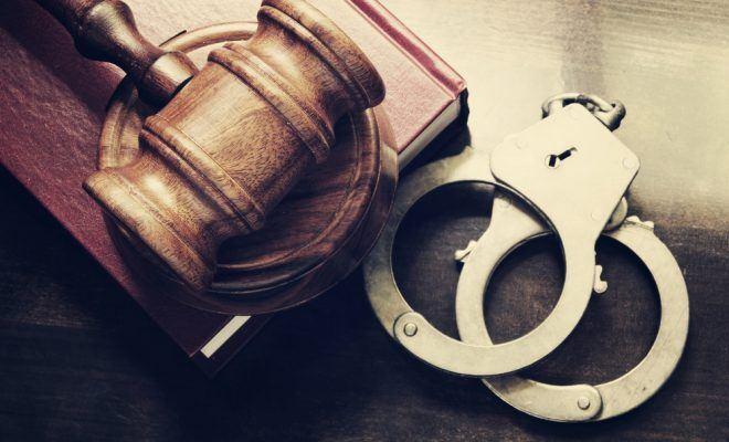 наручники, закон