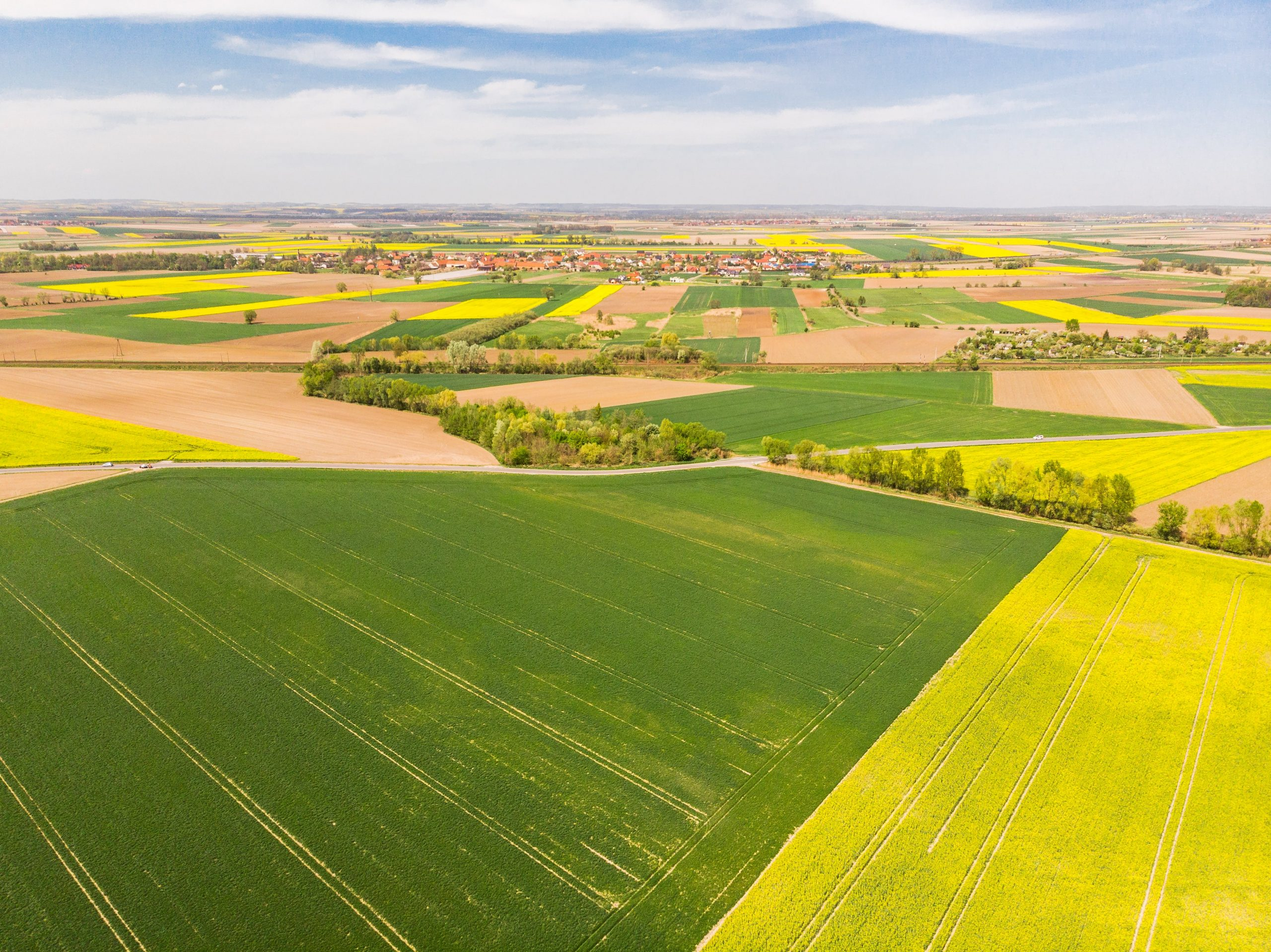 colorful-agricultural-fields-at-spring-aerial-PHT2Z5M-min